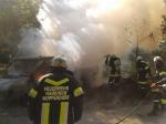 Fahrzeugbrand Nähe Ratzersdorf_2